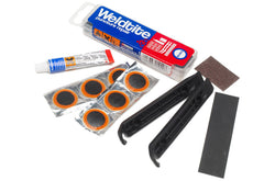 Weldtite Puncture Repair Kit with Tyres Levers for Prams