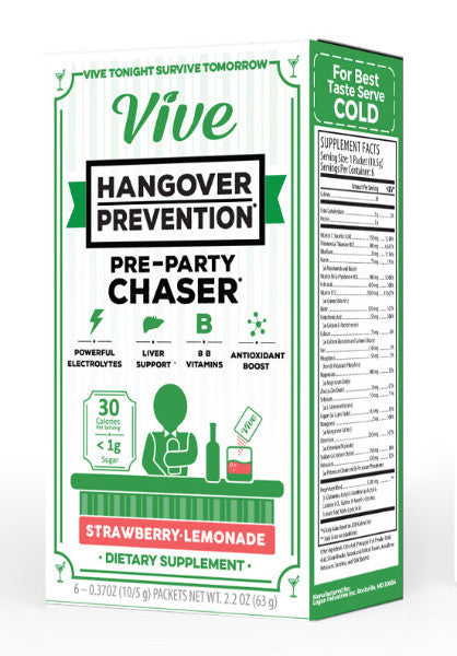 VIVE Hangover Prevention Box Front