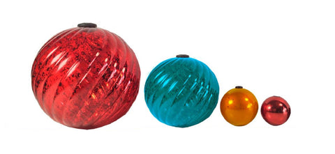 Image of Ballezz All-Occasion Christmas Holiday Decorating Ball Set 65 Pieces BDBS65