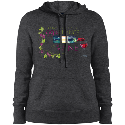 Image of Ladies' Pullover Hooded Sweatshirt