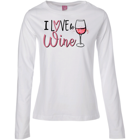 Image of Ladies Long Sleeve T-Shirt