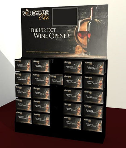 The Perfect Wine Opener Afficionado Set Bottle Corkscrew Air Lift Compression Technology TPWOAC001