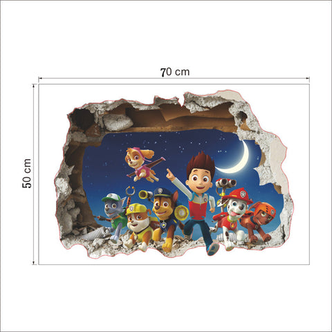 Paw Patrol - Great Wall Sticker for your Kids