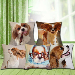 Cavalier King Charles Spaniels - Cushion Covers - Buy 2 Get 3