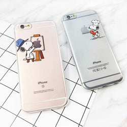 Cute Snoopy Soft Cases - 6 options