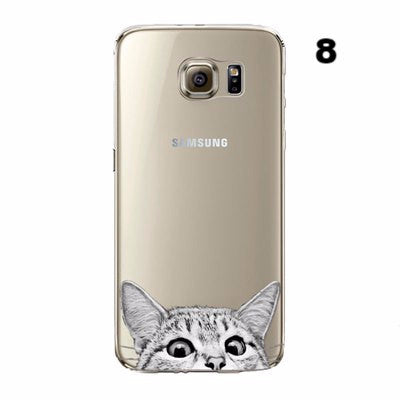 Cute Flexible Cartoons Cases Samsung - 21 Options