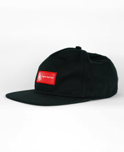 Unstructured Red Trap Adjustable Snapback