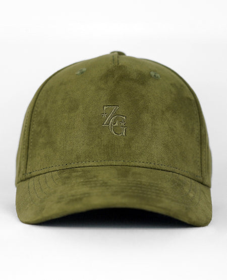 Olive Adjustable Baseball Cap