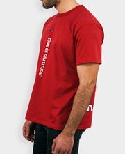 T-shirt Oversize in Red