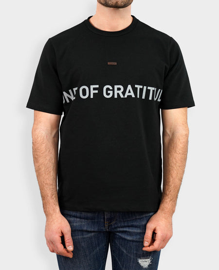 Regular Fit T-shirt in Black