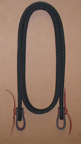 #7550  Tree Line Roping Reins by Double Diamond Halter Company