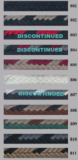 "#8823 Brannaman Braided Parachute Cord 9/16"" Mecates by Double Diamond Halter Company"