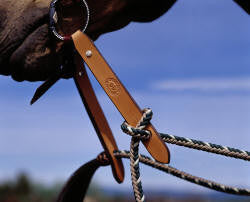 #4506 Buck Brannaman Slobber Strap by Double Diamond Halter Company