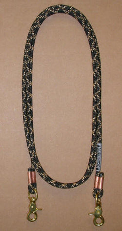 #4100 Roping Reins by Double Diamond Halter Company