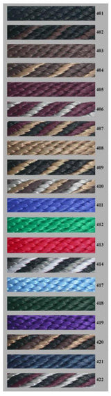 8210 5/8 Solid Braid Poly Lead by Double Diamond Halter Company.  Starting at $19.95