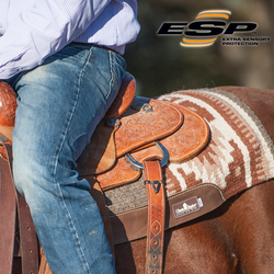 ESP WOOL TOP SADDLE PAD: 34