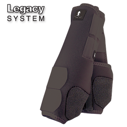 Legacy System Front Splint Boots in Black or White