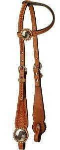Buckaroo Style Cheek Single Ear Headstall