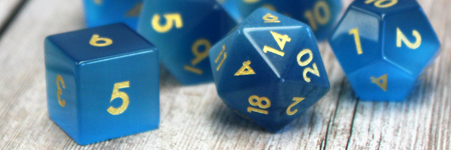 Caring for Gemstone Dice