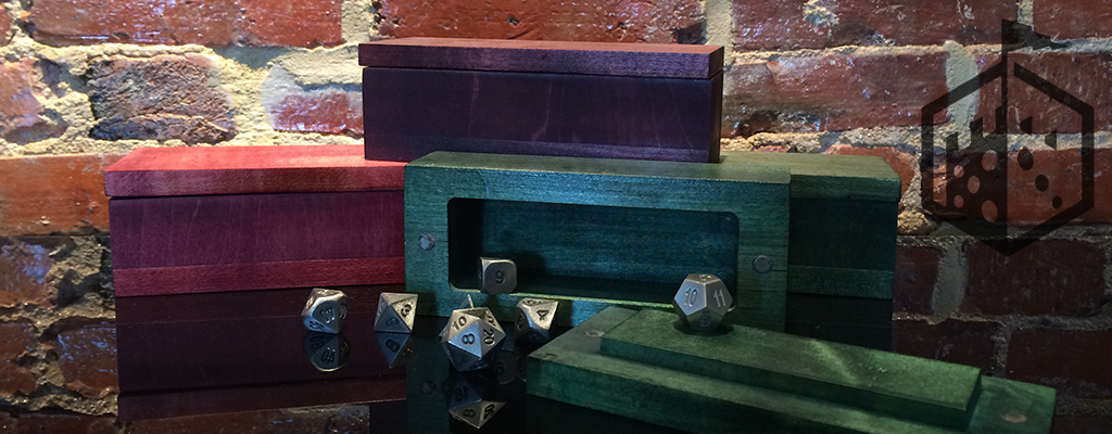 Wooden Dice Chest Now In Stock