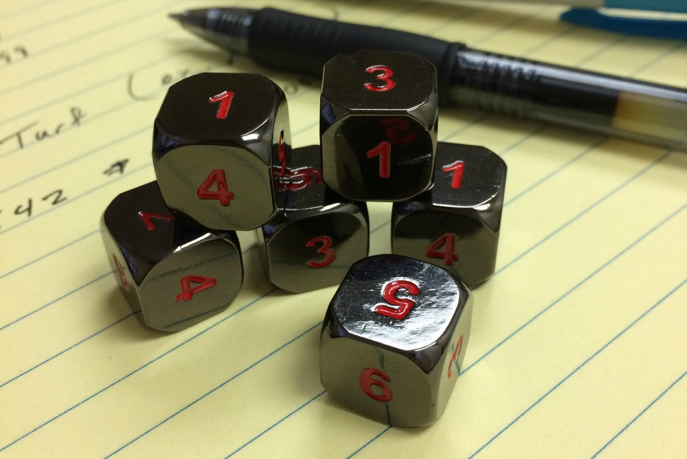 New Metal d6 Sets Have Arrived