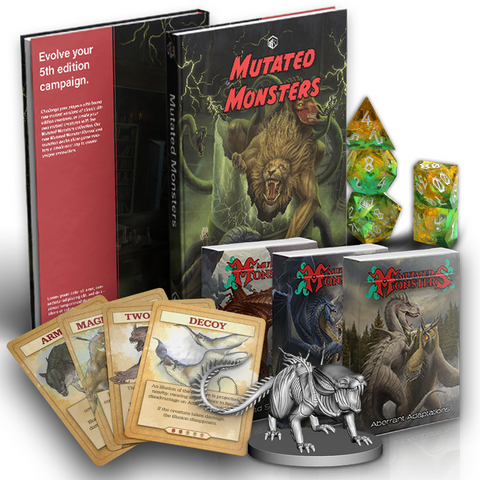 Item bundle for Mutated Monsters! Get them all!