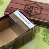 Deluxe Card Storage Box; holding 2 decks