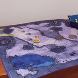 Cave battlemap for Dungeons and Dragons