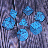 Glow in the dark dragon dice