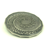 Adult Fire Dragon Coin Tails Side