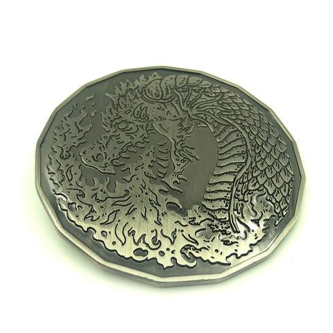 Adult Fire Dragon (3 In) Monster Coin Token