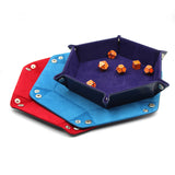 Dice Dungeons Dice Rolling and Storage Trays in 3 colors.