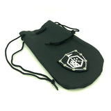 Dice Dungeons Leather Pouch Coin & Dice Bag in Black