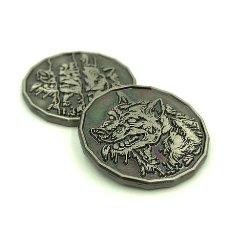 Wolf Coin Miniature