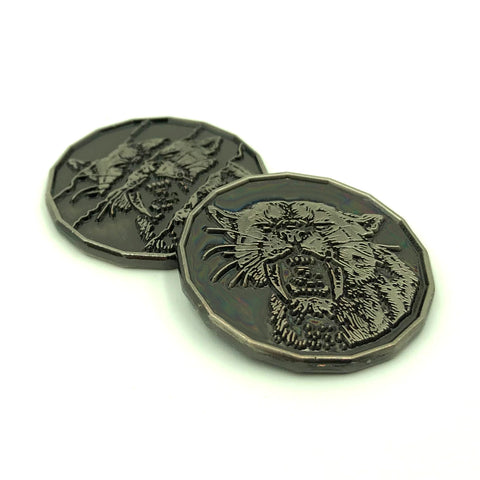 Tiger Monster Coin for D&D
