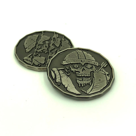 Zombie Monster Coin Token Pack