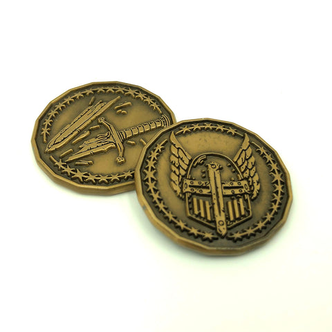 Paladin Character Coin Token Pack