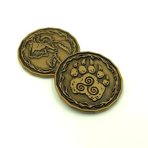 Druid Character Coin Token Pack