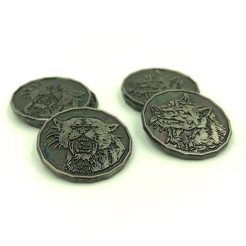 Large Cat and Wolf Tokens for D&D