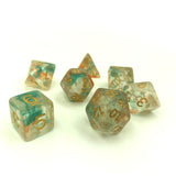 Luminous Koi Polymer Dice Set