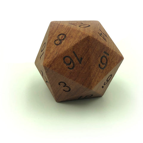 Wooden Jumbo 33mm D20 Rose Wood