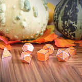 Pumpkin Spice dice fall display