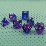 Purple Elixir Polymer Dice Set