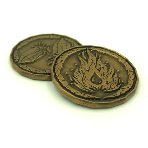 Sorcerer Character Coin