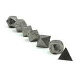 Metal Tungsten Dice Set Line Up