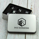 Metal Void Relic Black Dice Set in Display Box