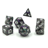 Metal Void Relic Black Dice Set with Display Box