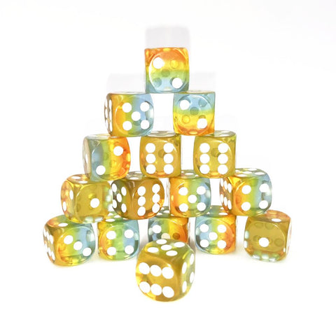 D6 12mm Sunrise Yellow Dice Set