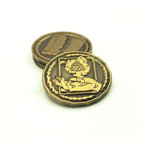 Character Coin Tokens - The Wizard