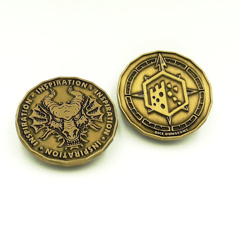 Dungeons & Dragons Inspiration Coins Tokens